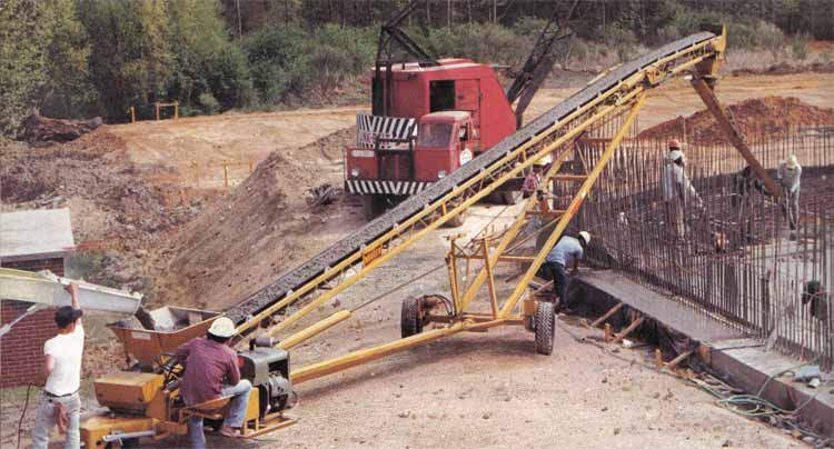 Clearfield Sales And Roofing Equipment Mobile Radial Placer